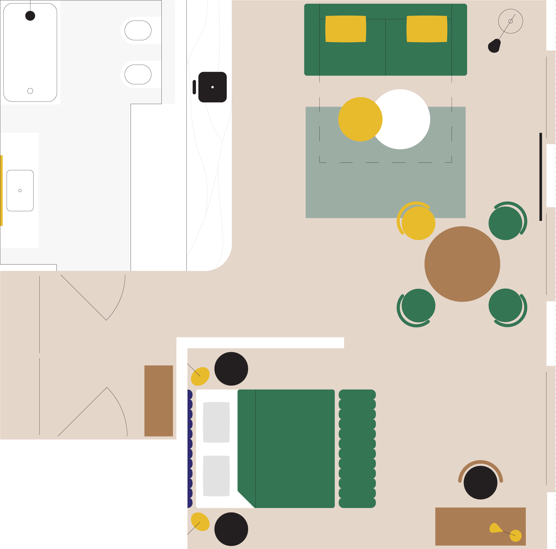 apartament na wynajem sawa plan