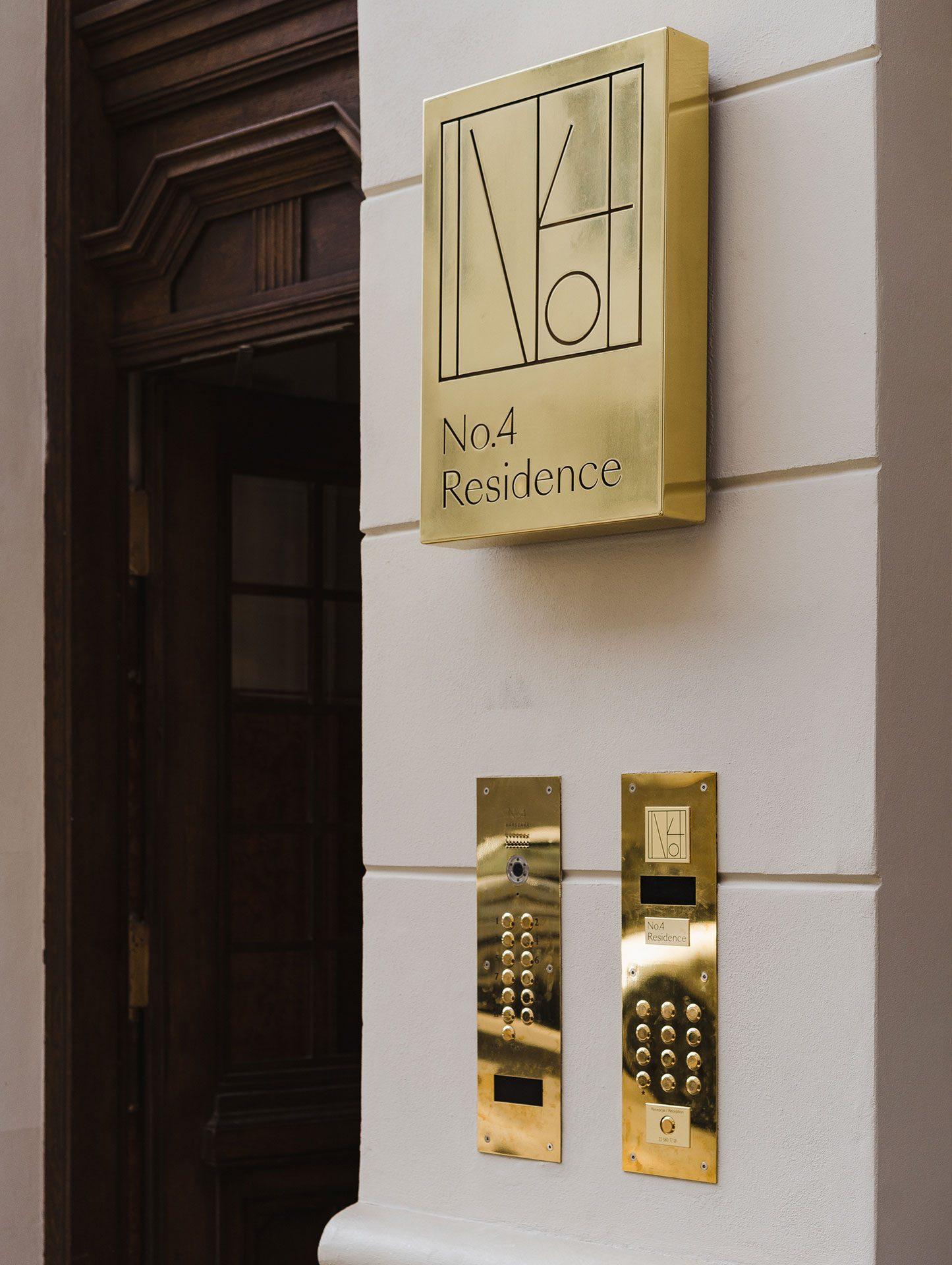 No4 Residence Wejście